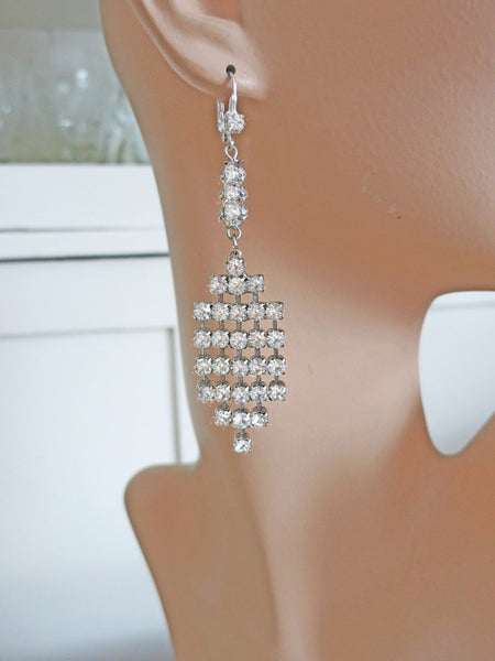 Fabulous Rhinestone Earrings