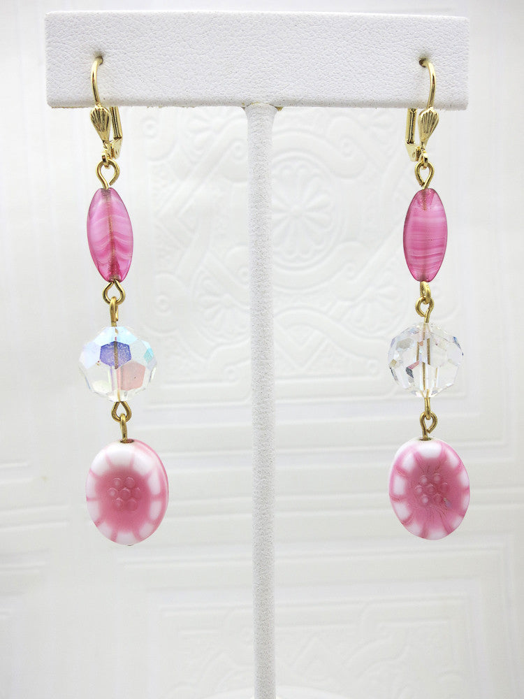 Gorgeous Pink Earrings