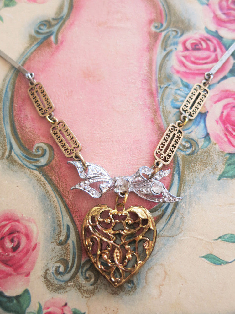 Restless Heart Necklace