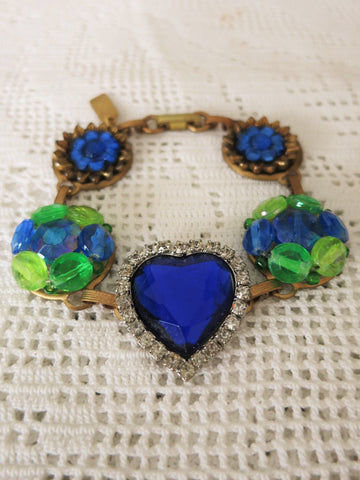 Heart of Blue Bracelet