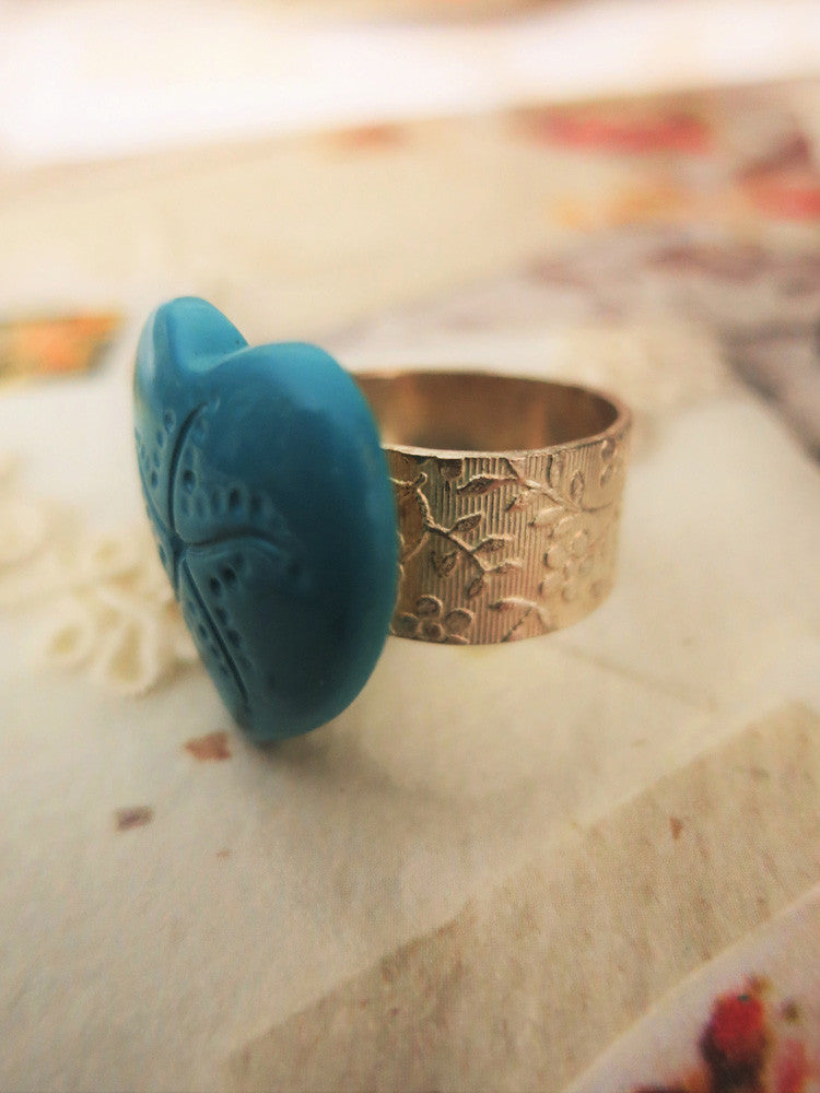 Warm Heart Ring