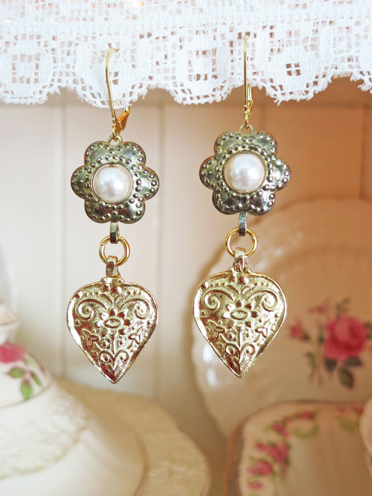 True Heart Earrings