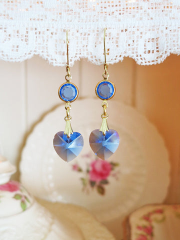 Heart of the Ocean Earrings