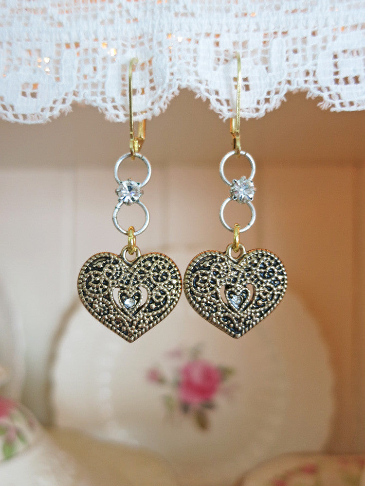 Heart Beat Earrings
