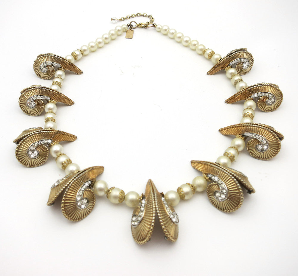 Egyptian Pearl Necklace