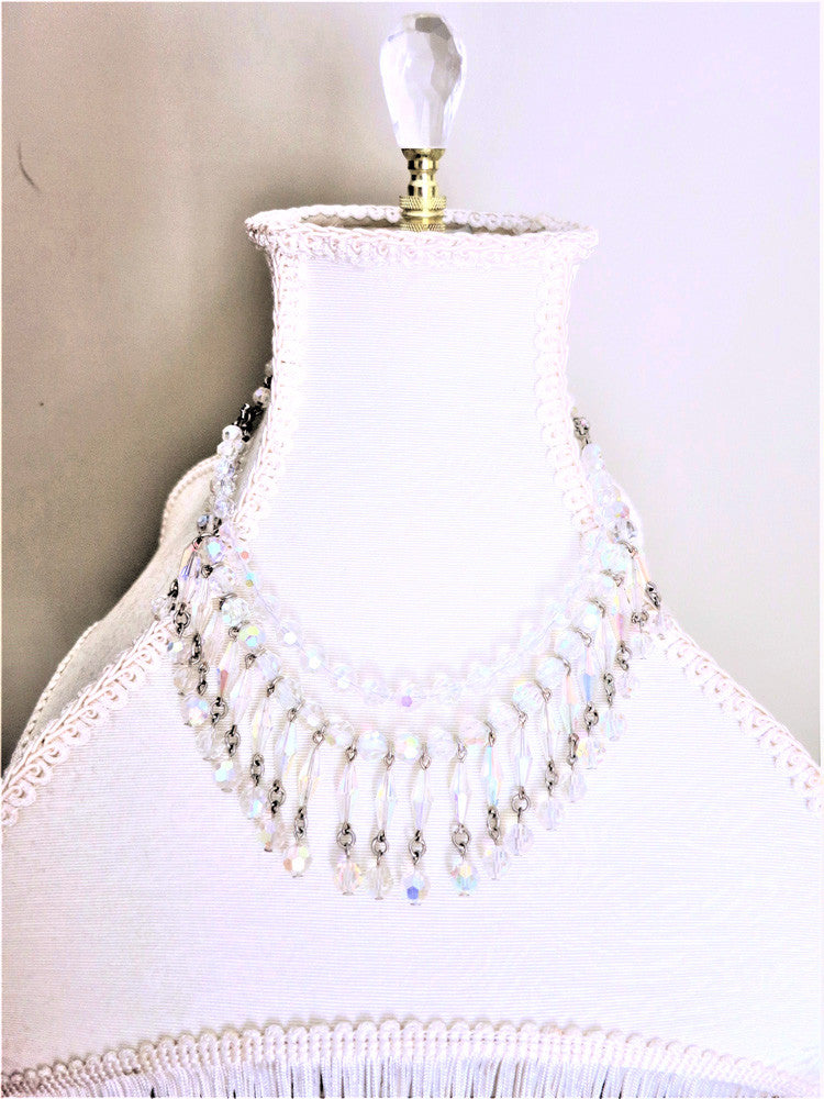Swarovski Crystal Droplet Necklace