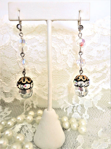 Gorgeous Crystal and Rhinestone Earringgs