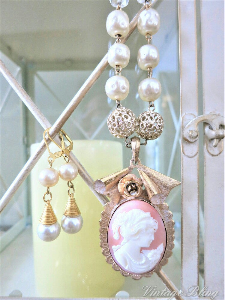 Pretty Pearl Earrings