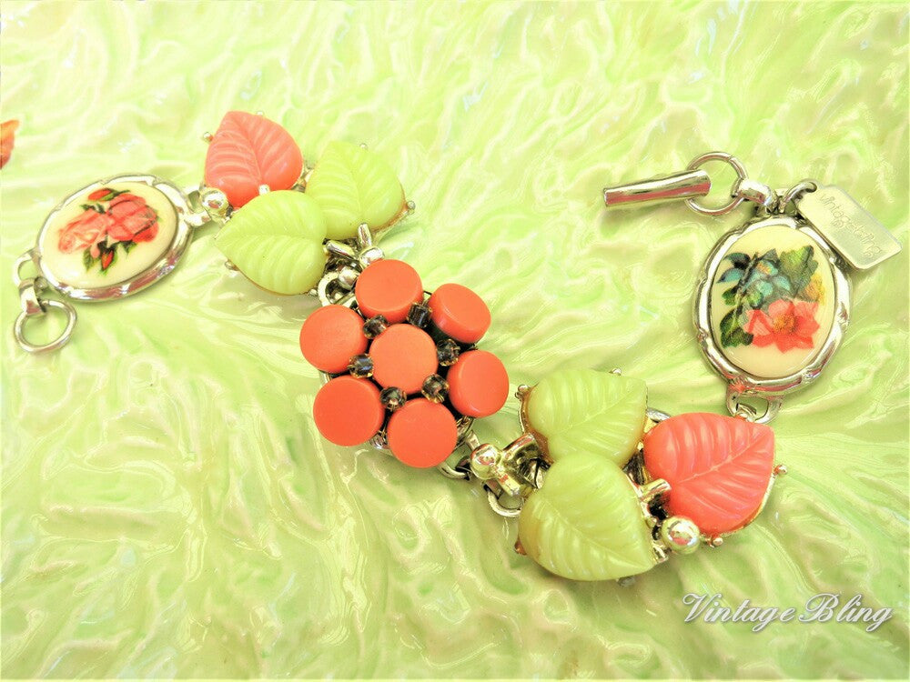 Adorable Orange & Yellow Bracelet