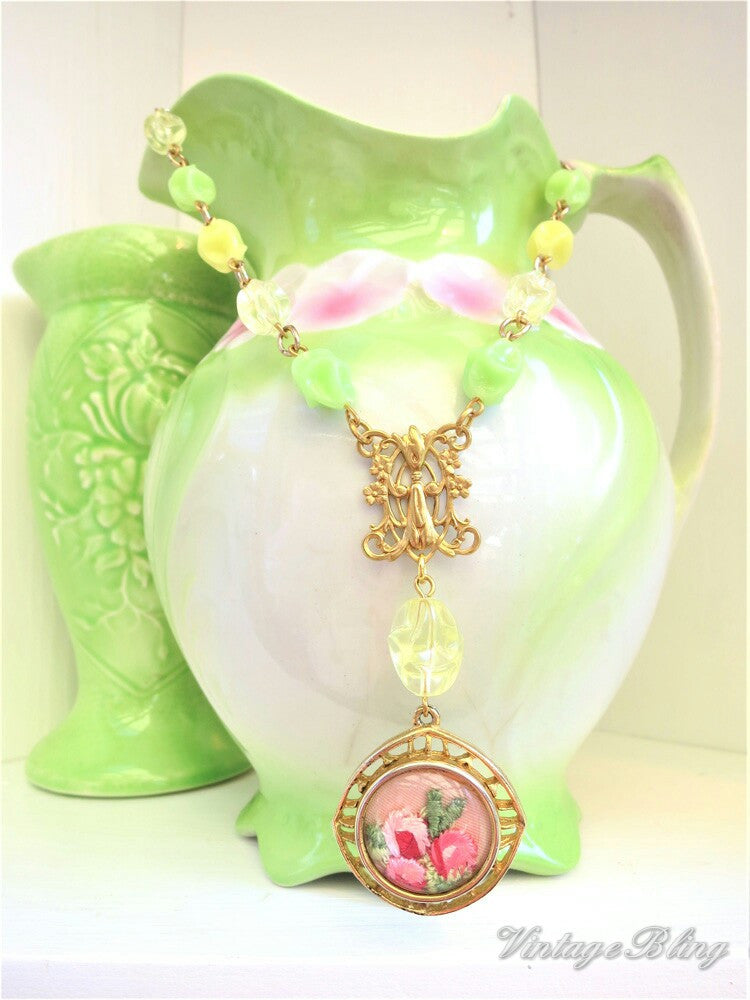 Lemon Lime Necklace
