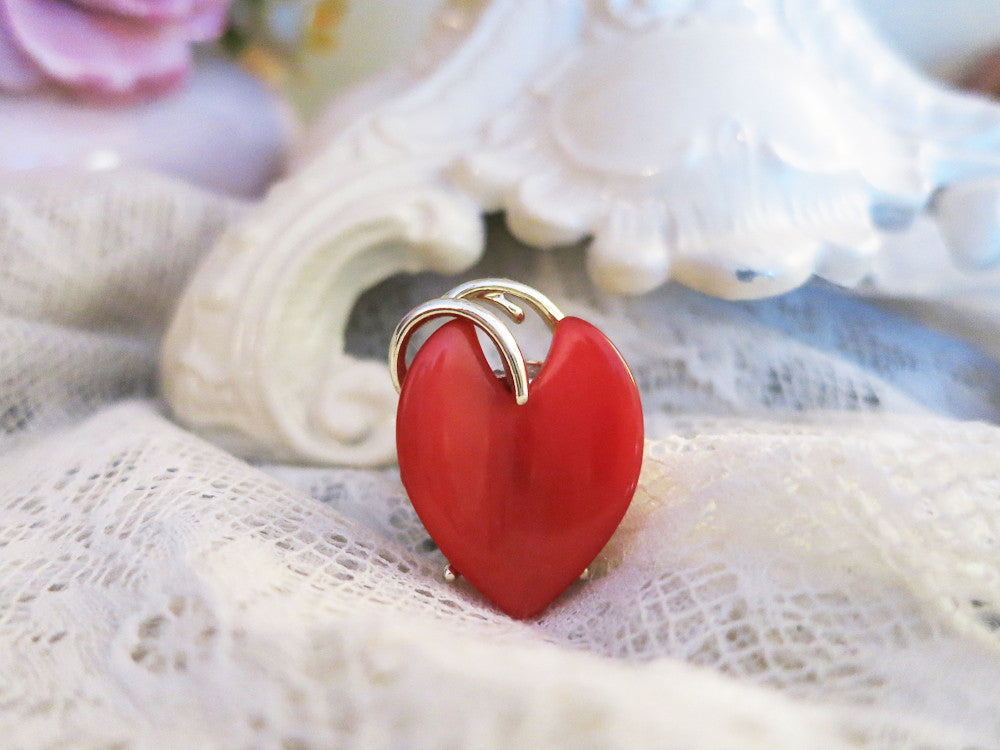 Cinnamon Heart Ring
