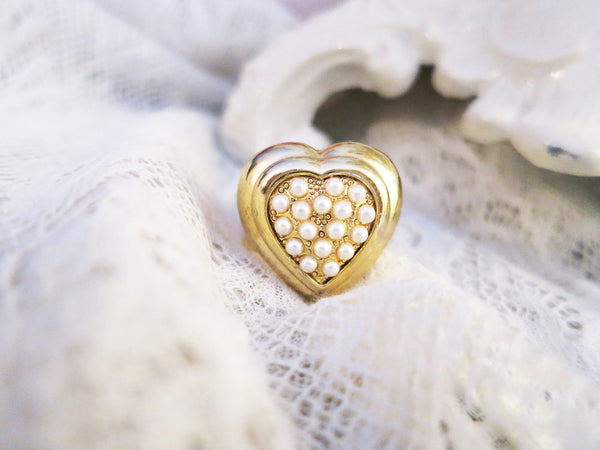 Tender Heart Ring