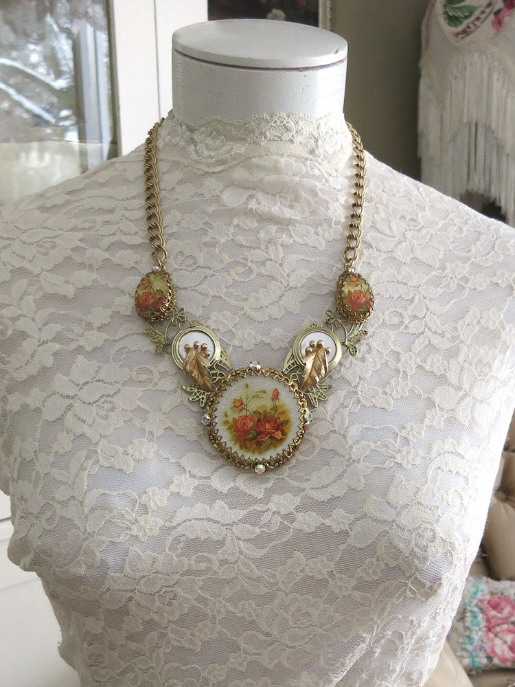 Garden of Roses Necklace
