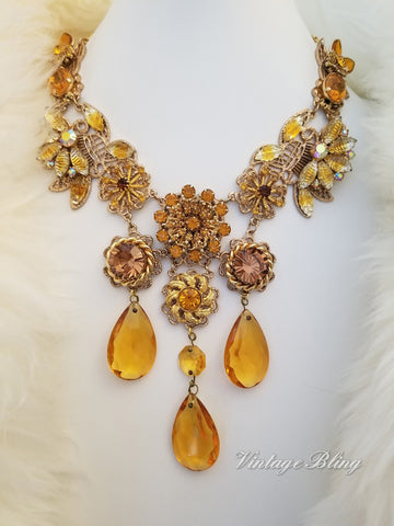 Butterscotch Beauty Necklace