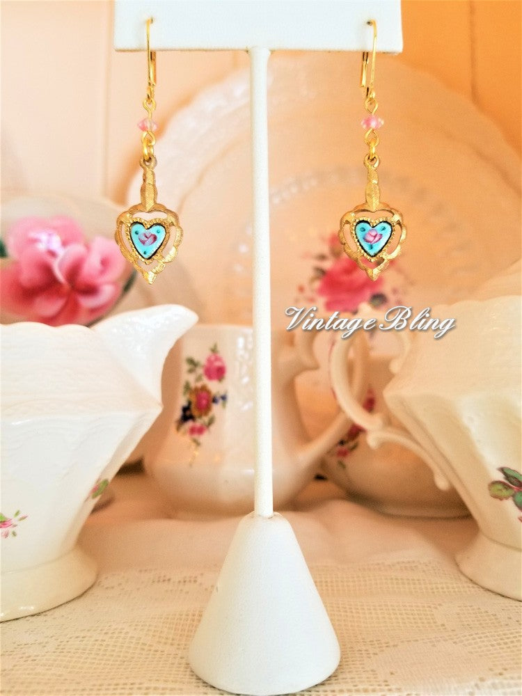 Precious Heart Earrings