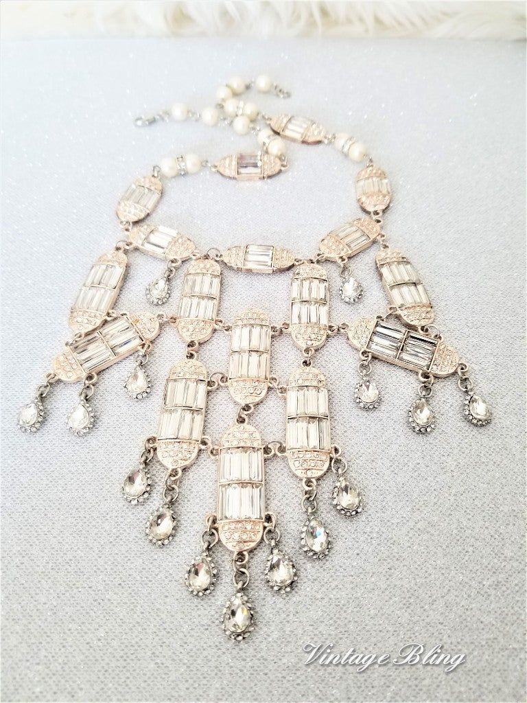 Cascading Statement Necklace