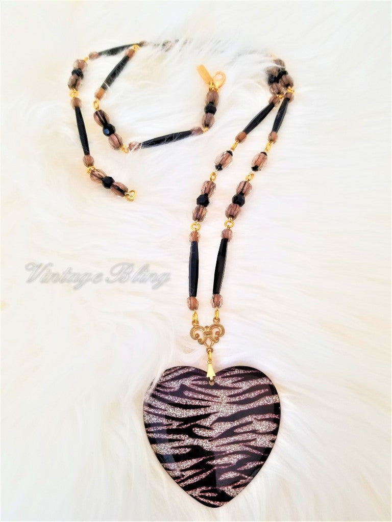 Tiger Heart Necklace