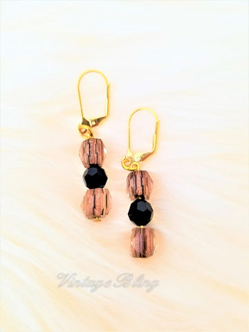Tiger Short Earrings