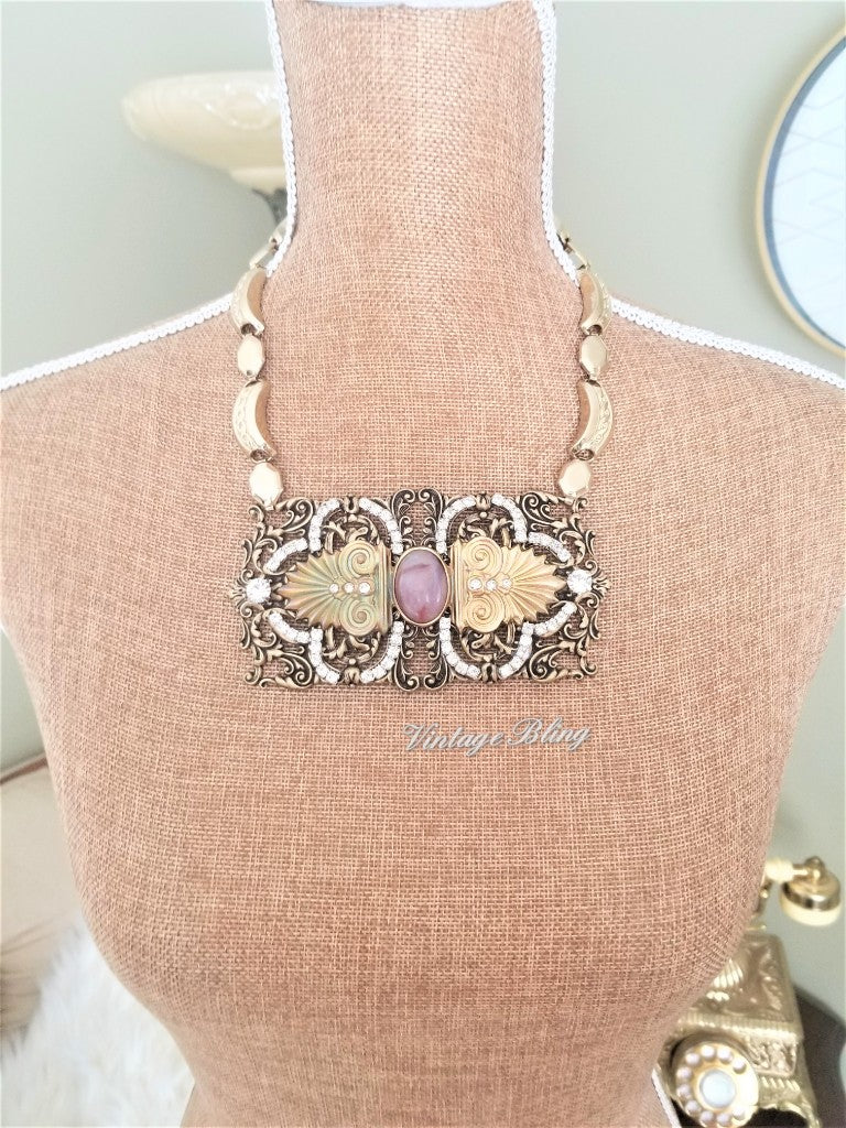 Art Deco Statement Necklace