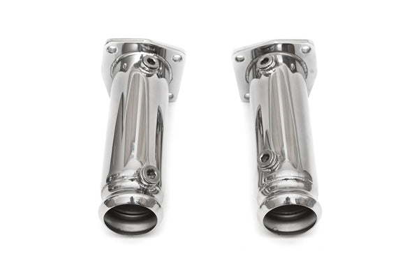 FabSpeed Porsche 997 Turbo Cat Bypass Pipes (2006-2009)