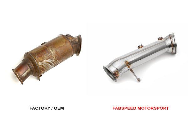 FabSpeed BMW M2 (F87) Cat Bypass Downpipe