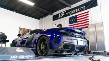 VF Engineering Mclaren 650S/675LT ECU Tuning Software