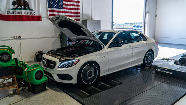 VF Engineering Mercedes AMG C43 ECU Tuning Software