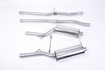 MillTek Audi RS6 Cat-Back Exhaust System (2002-2004)