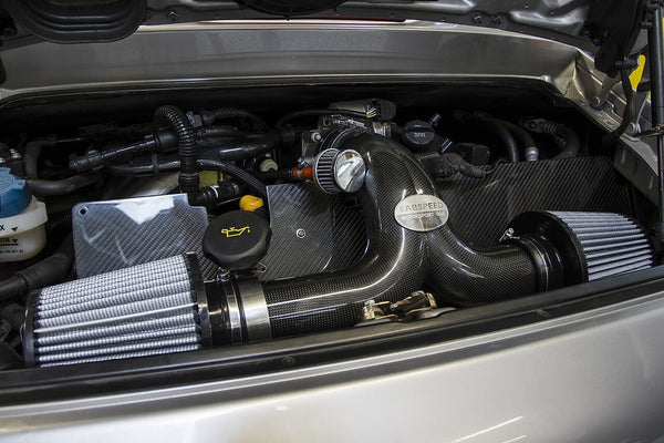 FabSpeed Porsche 996 Carrera Carbon Fiber Competition Air Intake System (2000-2004)