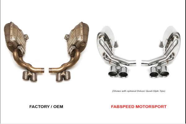 FabSpeed Performance Side Exhaust System (2009-2011)