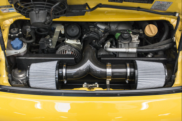 FabSpeed Porsche 996 GT3 Carbon Fiber Competition Air Intake (1999-2005)