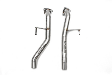 Fabspeed Porsche 955 S Secondary Cat Bypass Pipes (2002-2007)