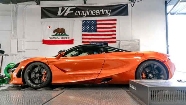 VF Engineering Mclaren 720S ECU Tuning Software