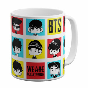 White Ceramic Coffee Mug MUG_WT_BTS_12