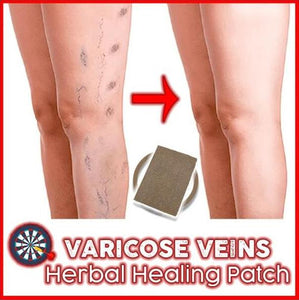 Varicose Veins Herbal Healing Patches (6 Patches)
