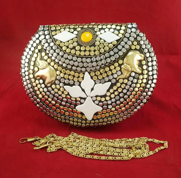 Handmade Traditional Pearl Clutch Bags
