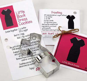 "Ann Clark 4-1/4"" Little Black Dress Cookie Cutter (ACLBD)"