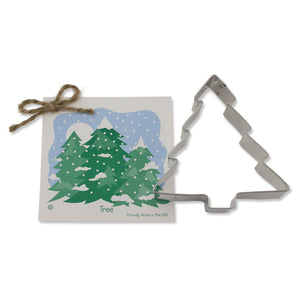 "Ann Clark 4"" Christmas Tree Cookie Cutter (ACCT)"