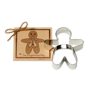 "Ann Clark 4-1/4"" Gingerbread Boy Cookie Cutter (ACGB)"