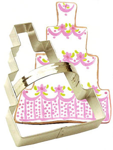 "Ann Clark 5-1/4"" Wedding Cake Cookie Cutter (ACWC)"