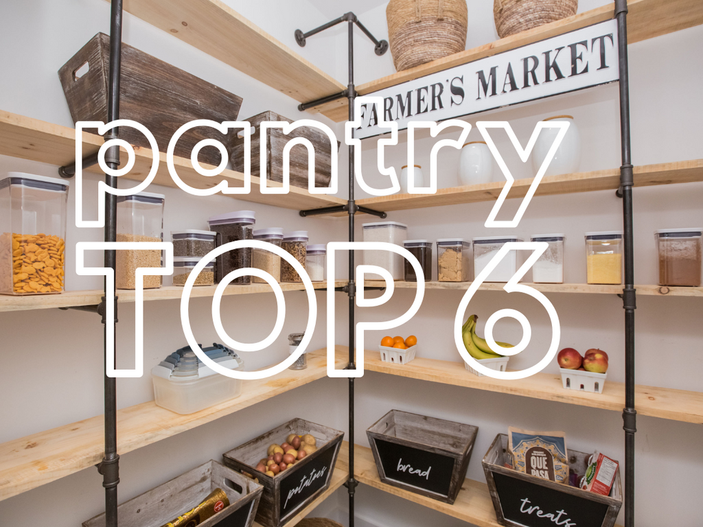 Top 6 Perfect Pantry Products!