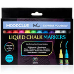 Neon Liquid Chalk Markers - Set of 12