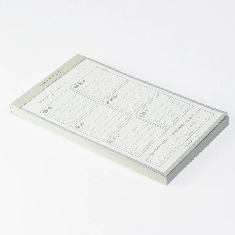 SMTWTFS Shopping List Notepad