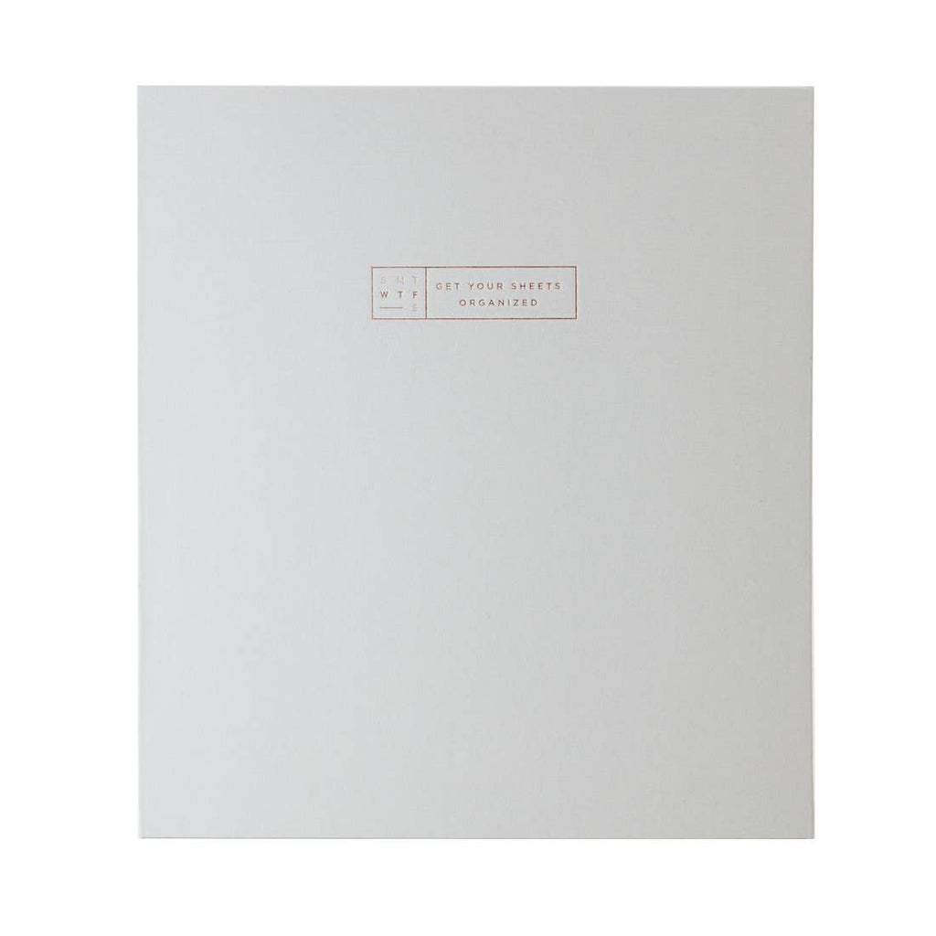 SMTWTFS 3-Ring Fabric Binder