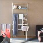 Tower Leaning Ladder With Shelf