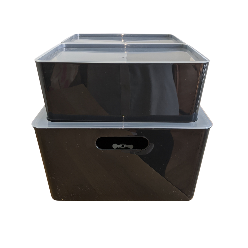 Signature Storage Bins - Black