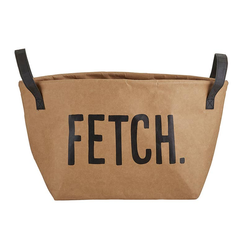 Washable Paper Pet Storage Tote