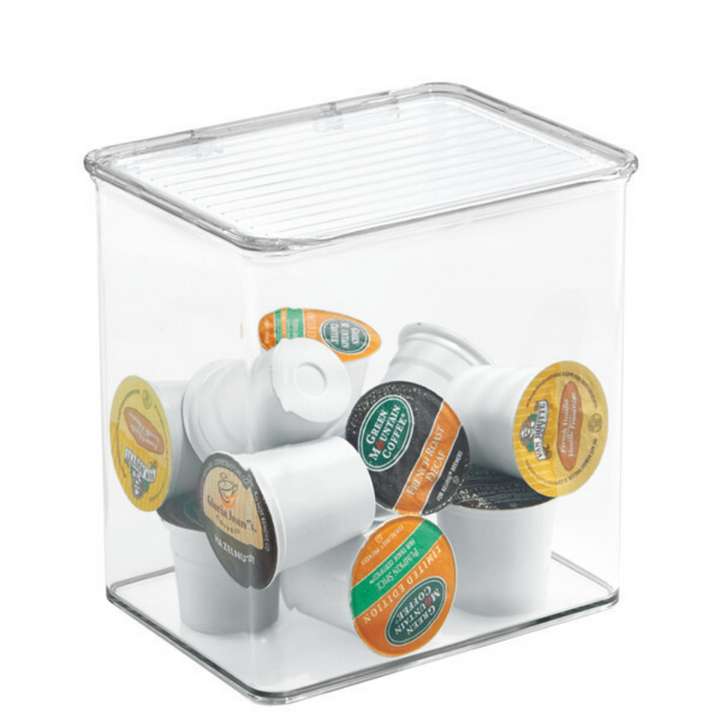Clear Binz Stackable Box - 5.5 x 6.6 x 7