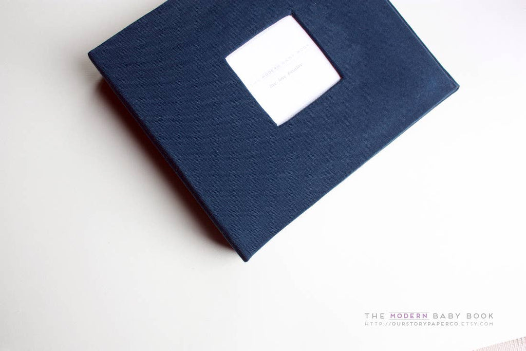 Solid Colour Keepsake Album