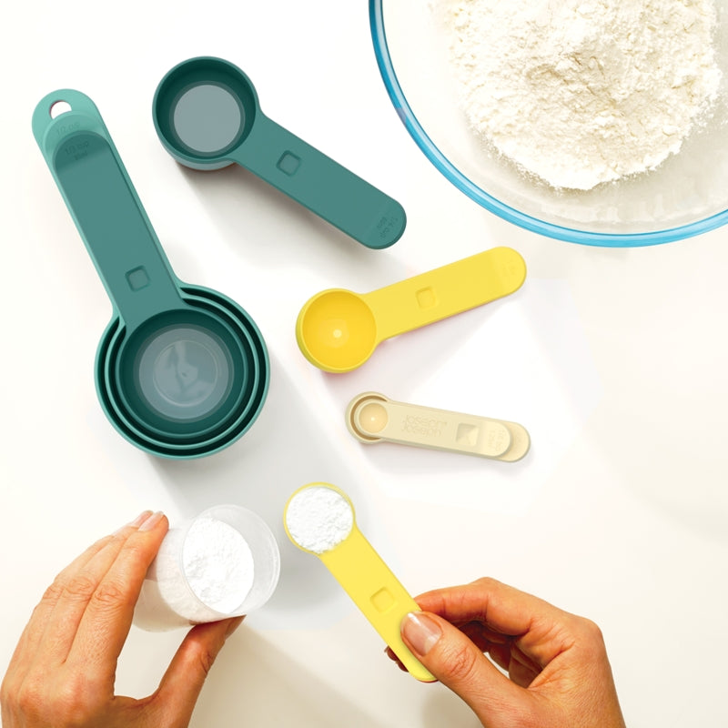 Nest™ Measuring Cup and Spoon Set - Opal
